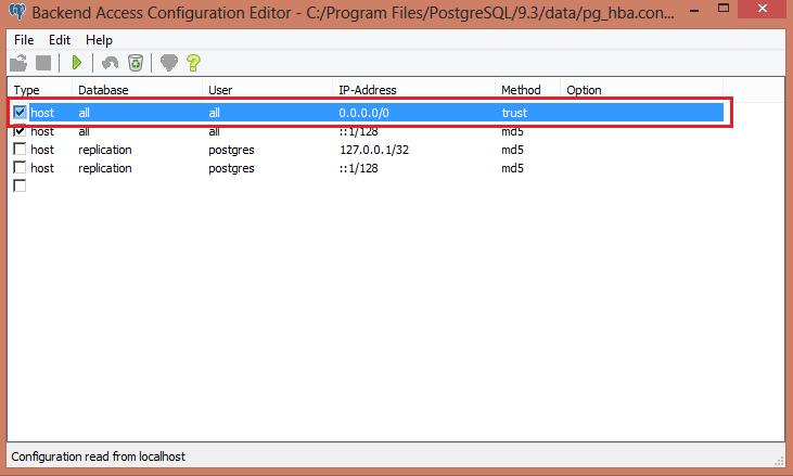 PostgreSQLAgAyarlari-pg_hba conf